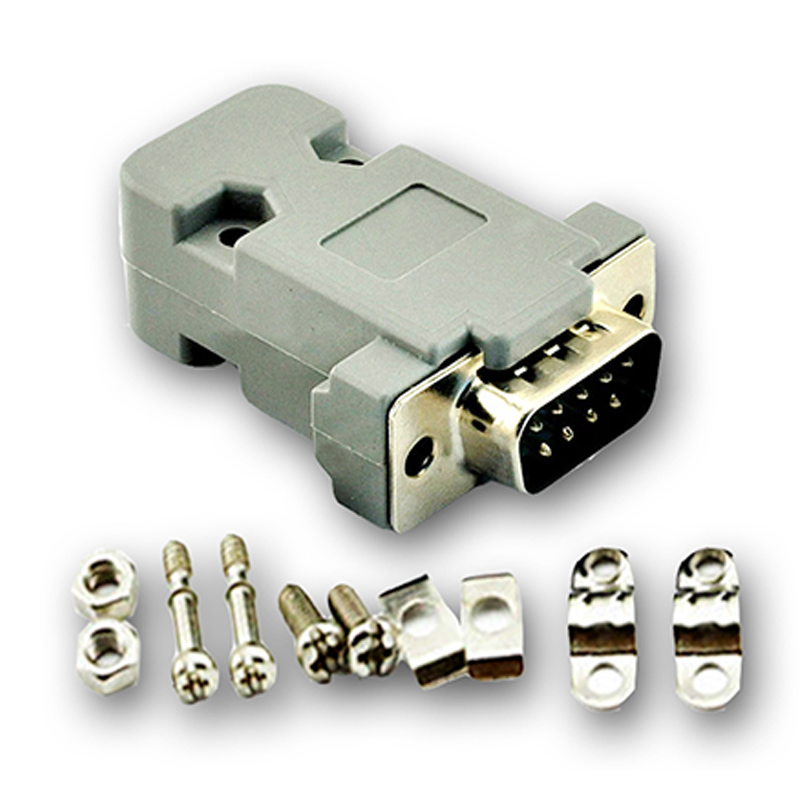 DB-9 DB9 RS232 Male Connector with socket D-Sub 9 pin PCB Connector видеоняня ibaby ibaby видеоняня monitor m6s page 5