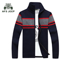 Men Sweater Fashion Autumn Patchwork Cardigan Men's Casual  Warm Sweater Male 2017 Knitting Sweter Hombre Size M-3XL 75z