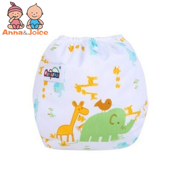 5pcs Washable Baby Diaper / Training Pants (Tape)