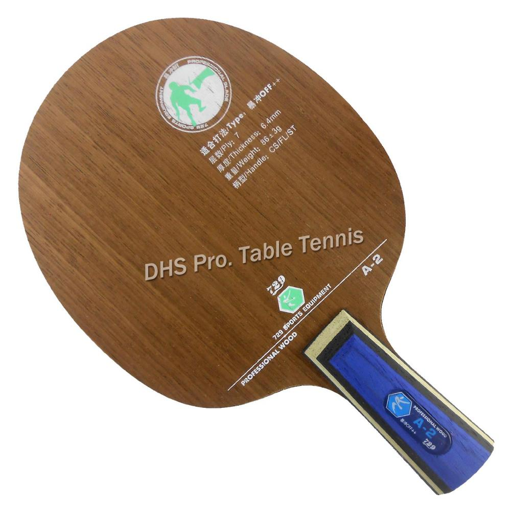 729 A-2 (A2, A 2) OFF++ Table Tennis PingPong Blade Racket For Pingpong