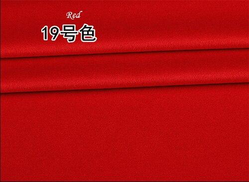 2019 Europe haut de gamme marque manteau laine soie tissu laine mérinos soie cachemire tissus lisse brillant Anti statique or tissus