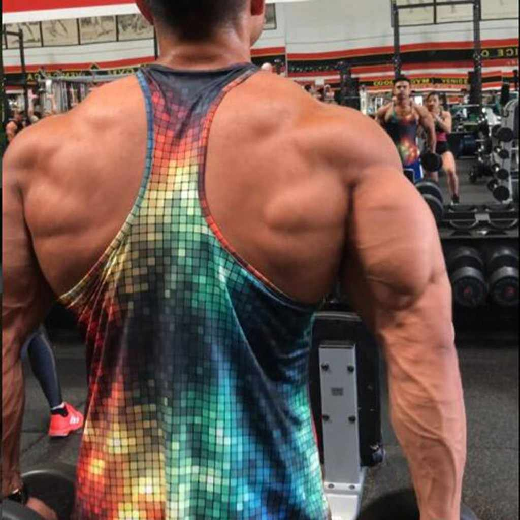 Men Brand Gyms Sleeveless bodybuilding Tank Tops Men's Summer gyms Fitness Casual O-neck Men Tank Tops