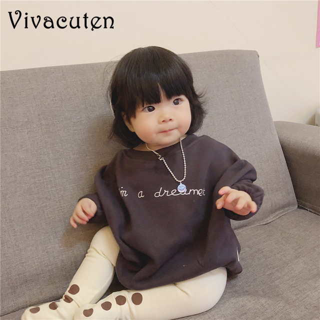 f8b62c7bfb37 2019 Ins Spring Autumn Korean Style Baby Rompers Infant Kids Wear Baggy  Sweater Girls Boys Winter