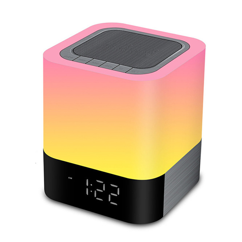 EAAGD LED Alarm Clock with Night Light Bluetooth Speakers,All in 1 Touch Sensor Bedside Lamp/MP3 Music Player Alarm ClockEAAGD LED Alarm Clock with Night Light Bluetooth Speakers,All in 1 Touch Sensor Bedside Lamp/MP3 Music Player Alarm Clock