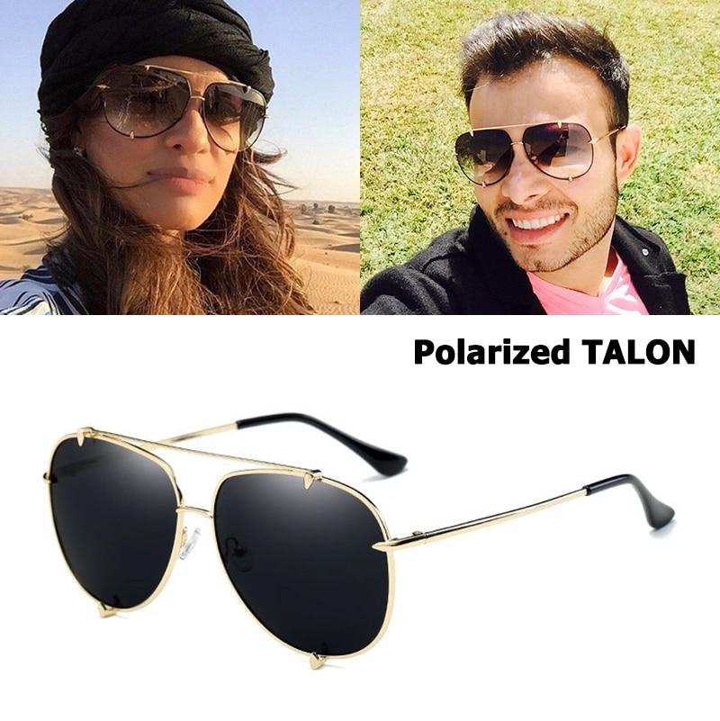 JackJad Mode Talon Gradient Style Aviateur lunettes de Soleil POLARISÉES  Marque Design Lunettes de Soleil Vintage Classique Oculos De Sol 0907 ba3ee9d2e1a7