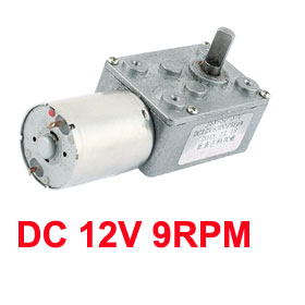 UXCELL Hot Sale 1Pcs DC 12V 9/60RPM 6mmx13mm D-Shape Shaft Electric Power Turbo Worm Geared Motor цены