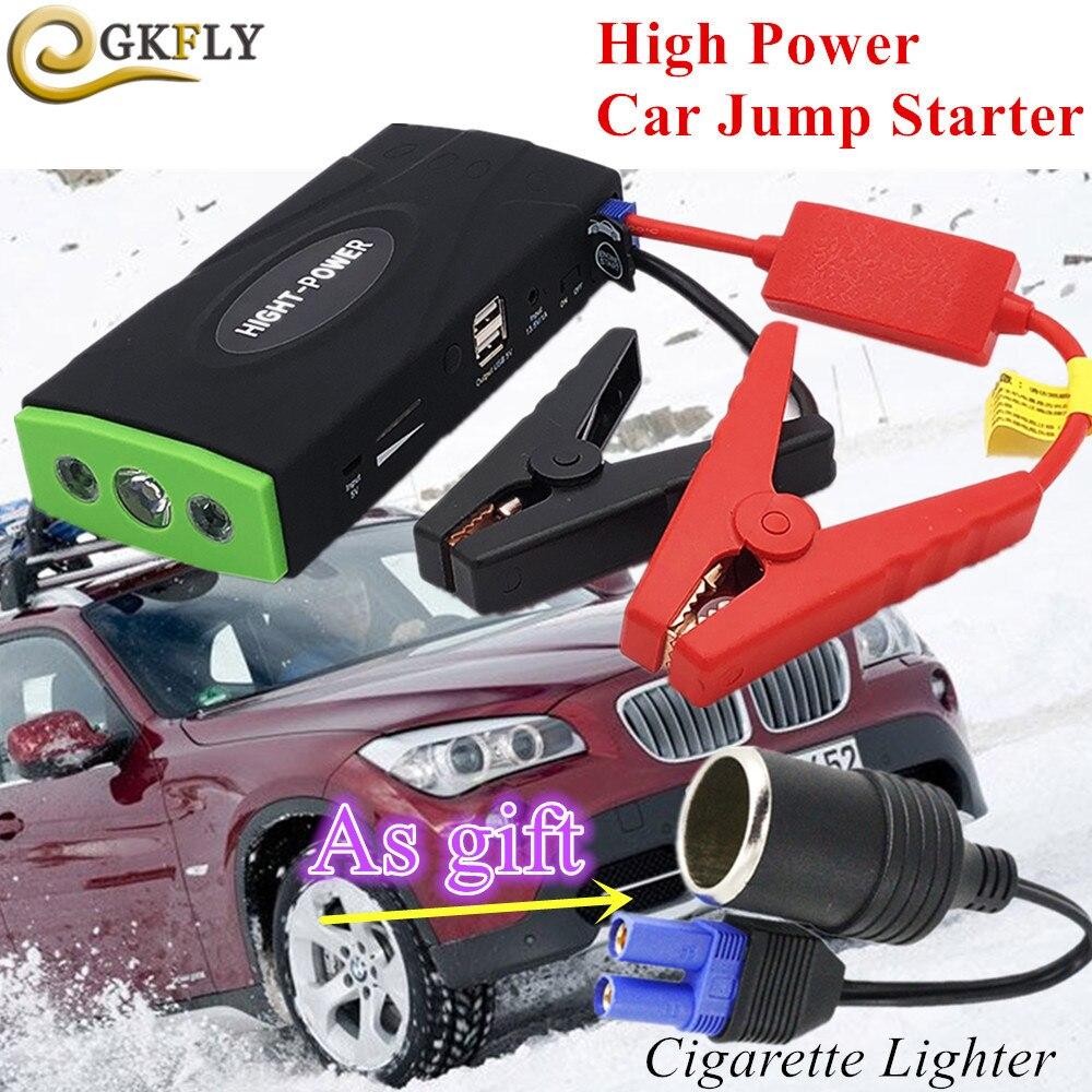 Super puissance voiture saut démarreur 600A Portable démarrage dispositif batterie externe 12V voiture chargeur pour voiture batterie Booster Buster