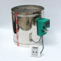 100MM Stainless Air Valve With 16Nm Drive Intelligent Air Damper Acutoator With 5 Position Controller 220