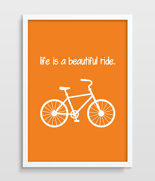 Popular mountain bike art buy cheap mountain bike art lots for Buy cheap posters online