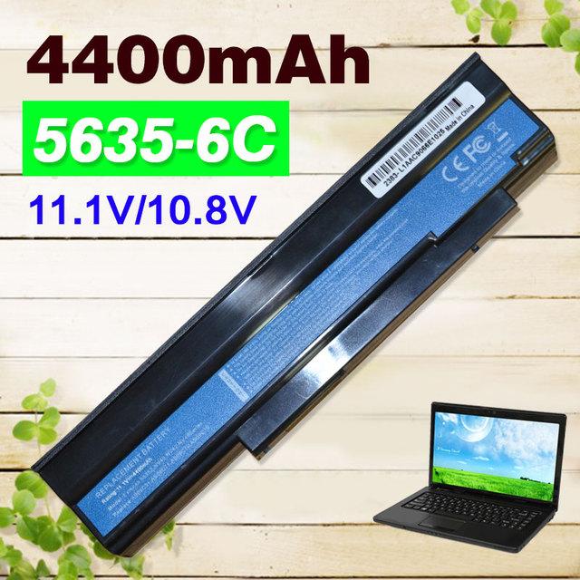 4400 mah portátil batería as09c31 as09c71 as09c75 para acer extensa 5235 5635 5635g 5635zg zr6 5635z gateway nv42 nv44 nv48