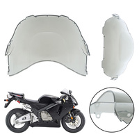 1pc ABS Plastic Light Smoke Windscreen Windshield For Honda CBR600 F3 1995 1998 2