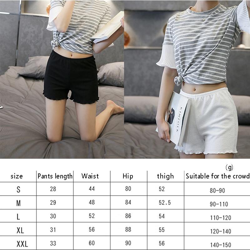 Summer Style Shorts Women New Feminino Shorts Famale Safty Shorts Candy Color Elastic Waist Casual Solid Short Women #5