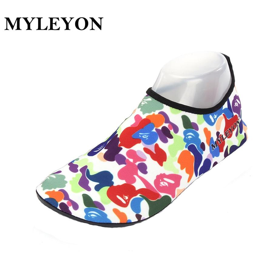 MYLEYON beach shoes Summer Outdoor Shoes Woman Men Shoes Trekking Senderismo Upstream Walking Water Quick Drying sneaker Shoes