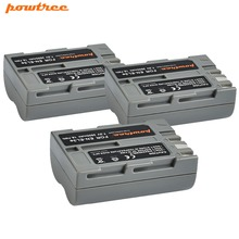 цена на 3Packs 7.2V 2600mAh Li-ion EN-EL3e  Batteries For Nikon D30 D50 D70 D70S D90 D80 D100 D200 D300 D300S D700 Digital Camera L15