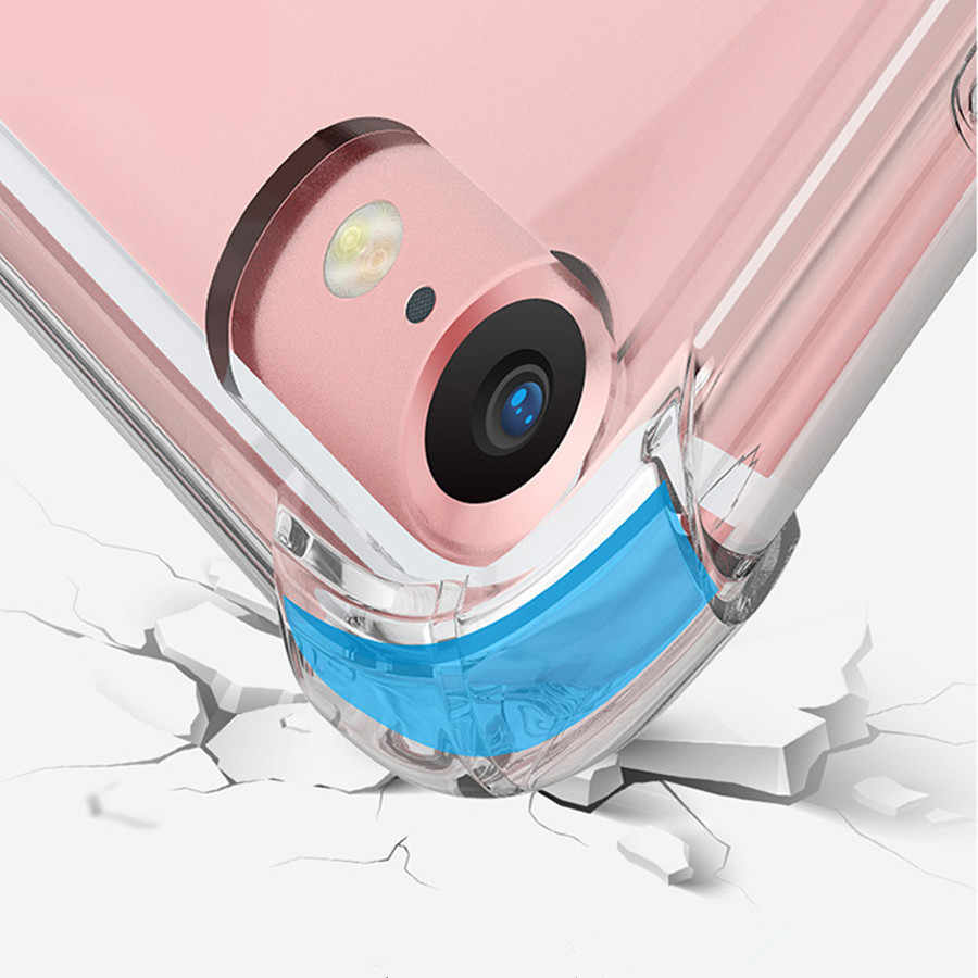 Super Anti Knock Armor TPU Case For iPhone 7 Cover iPhone 8 Plus