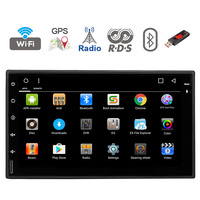 Double 2 Din 7'' OUALcore Universal Android 8.01 1 RAM Car Radio PC Stereo Video GPS Navigation 1024*600 HD Touch Screen