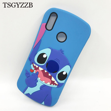 Funny Stitch Case Soft Silicone Phone For Huawei Y9 2018 Capa Fundas Coque 2019 Cover Honor 8X Cases
