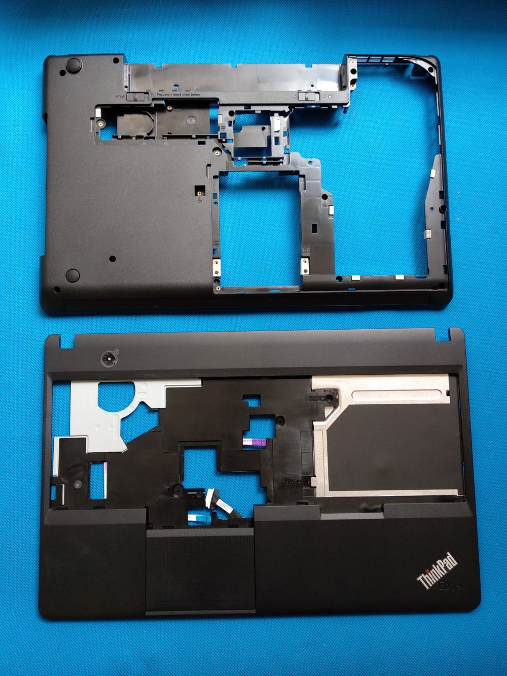 New Lenovo Thinkpad E530 E535 04Y1206 Upper Palmrest Case & Bottom Base new original for lenovo thinkpad yoga 260 bottom base cover lower case black 00ht414 01ax900
