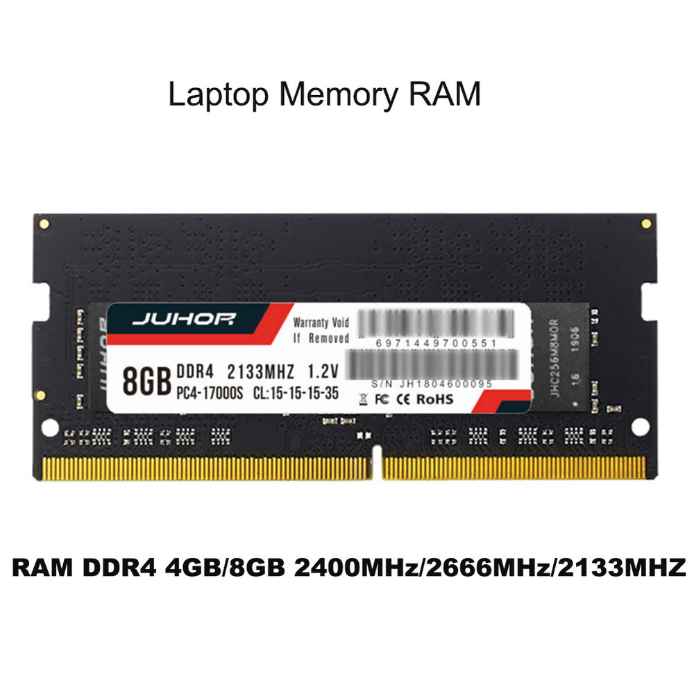 Laptop memory DDR4 DDR3 DDR3L 4GB 8GB 1600 2400 2666 2133MHZ Interface Type 260pin Memory Voltage 1 2V memory ram DDR4 in RAMs from Computer Office