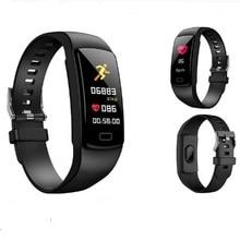 Smart Bracelet Y9 Heart Rate blood pressure Watch Smart Wristband Smart band Fitness Tracker PK honor band 4 Pk xiaomi mi band 3