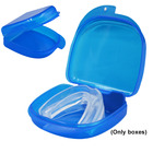 Hot Sale Denture Case Organizer Plastic Dental Retainer False Tooth Storage Box Holder Mouthguard Container