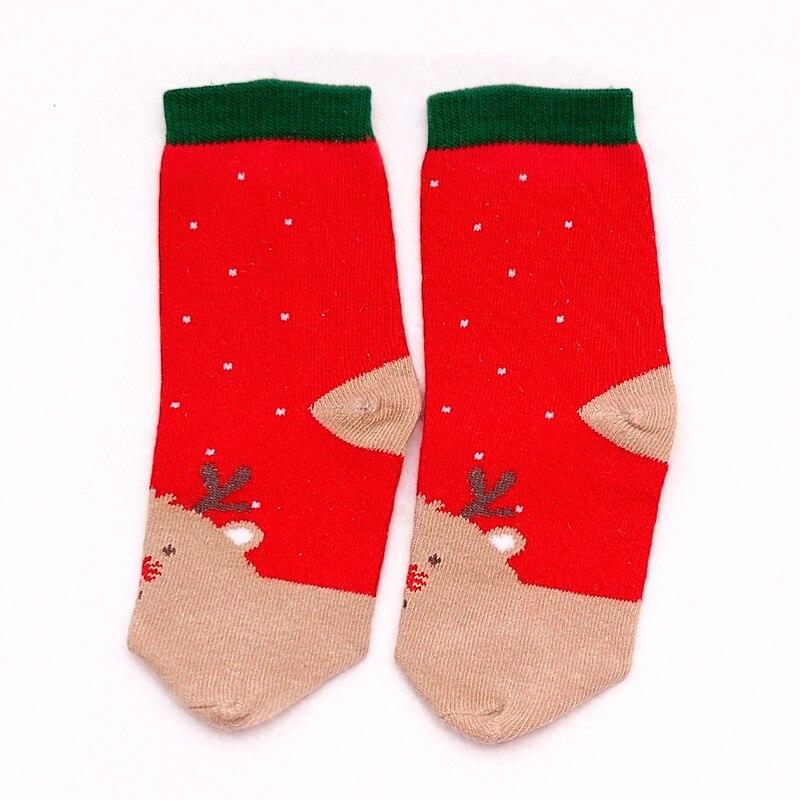 LAWADKA Christmas Gift Soft Cotton Newborn Baby Girl Socks Cute Cartoon Pattern Kids Socks Boys For Baby Girls Socks 0-5 years 4