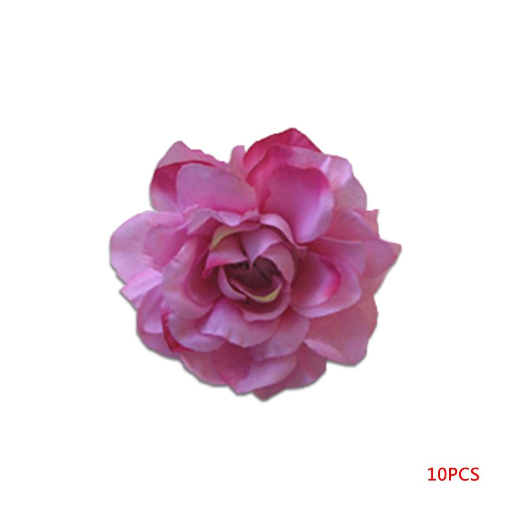 Dried rose petal chinese rose flower rose tea buy rose petal - Beautiful 10pcs 5cm Silk Artificial Rose Bud Flowers Head Wedding Diy Wreath Gift Craft China