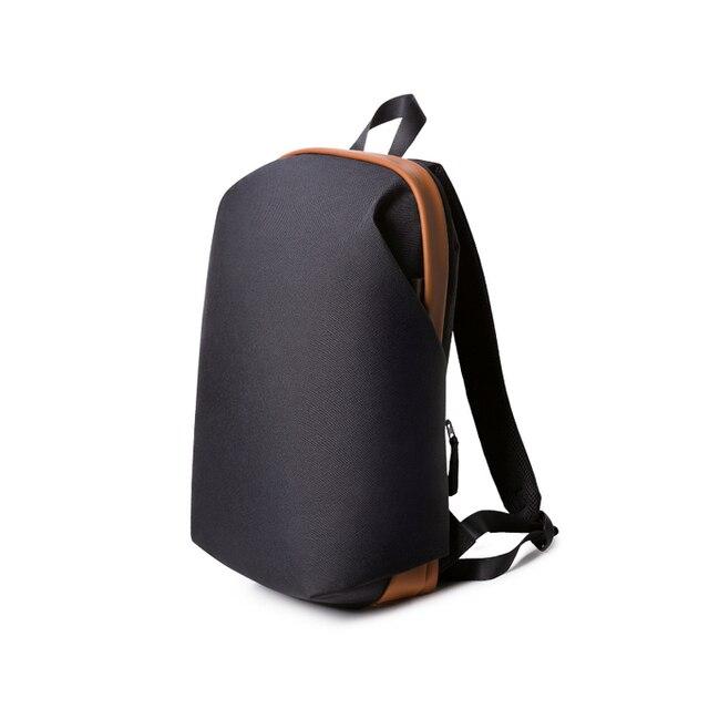 Черный на складе в Исходном Meizu рюкзак Женщины Мужчины классический бизнес Рюкзаки опрятный стиль Студенты Сумки Большой Емкости Сумка Для Ноутбука