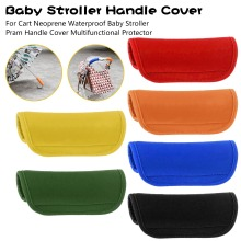 For Cart Neoprene Waterproof Baby Stroller Pram Handle Cover Multifunctional Protector