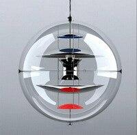 Danish Verpan Vp Globe Lamp GU10 LED Star Ball Acrylic Glass Pendent Light for Bar Living Room Resturant Lamps