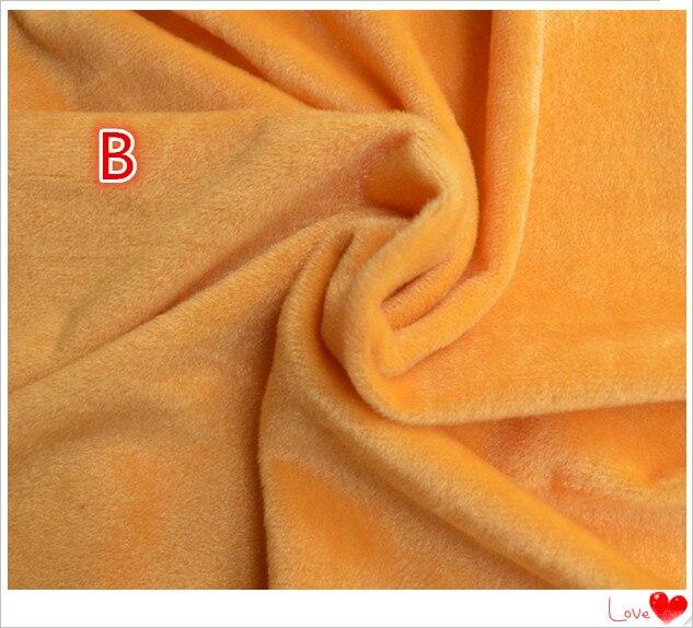 50 * 150 cm Samt Stoff Meter Brown Plüsch Fleece Handarbeit - Kunst, Handwerk und Nähen - Foto 5