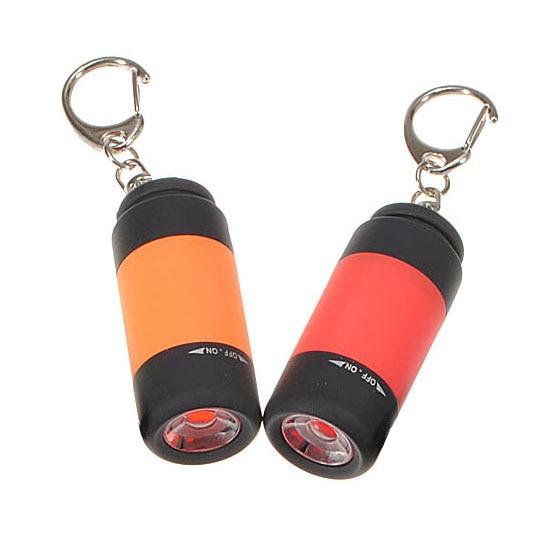 Mocc 2x Портативный Перезаряжаемые USB Mini светодиодный фонарик свет лампы фонарик брелок кольцо
