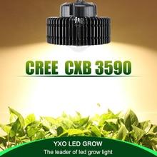 Светодиодная лампа полного спектра для выращивания растений, 100 Вт, CREE CXB3590