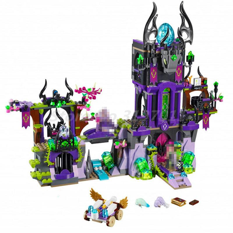 BELA 10551 Building Blocks Model Original Fairy Elves Laguna Dark Magic Castle Figure 41180 Bricks Toy For Children Gifts цена