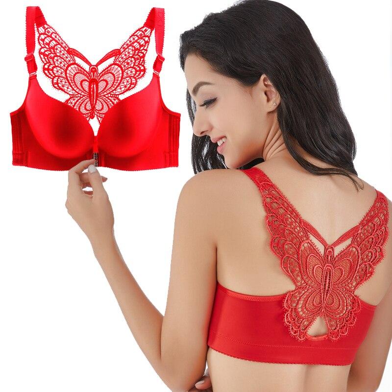 Sexy Sans Soudure Lingerie Super Push Up Bras pour les Femmes Sous-Vêtements soutien-Gorge grande taille Ultra grandes tailles pour Femmes soutiens-gorge dans plus la Taille