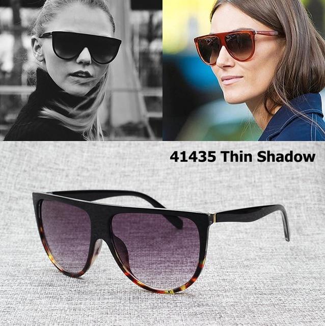 02d5c233cca JackJad 2017 Fashion Cat Eye 41435 Thin Shadow Sunglasses Brand Design  Gradient Sun Glasses Eyewear Frame