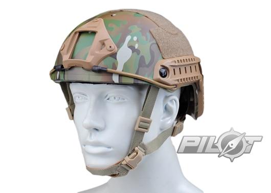 2015 NEW Kryptek Typhon Pilot FAST Helmet Airsoft MH adjustable ABS helmet (PH0601-Multicam) ess 2015 uv400 airsoft ice