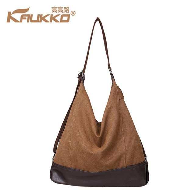Women Handbags Large Capacity Korean Special Oversized Shoulder Bag Casual Las Canvas And Pu Leather Handbag