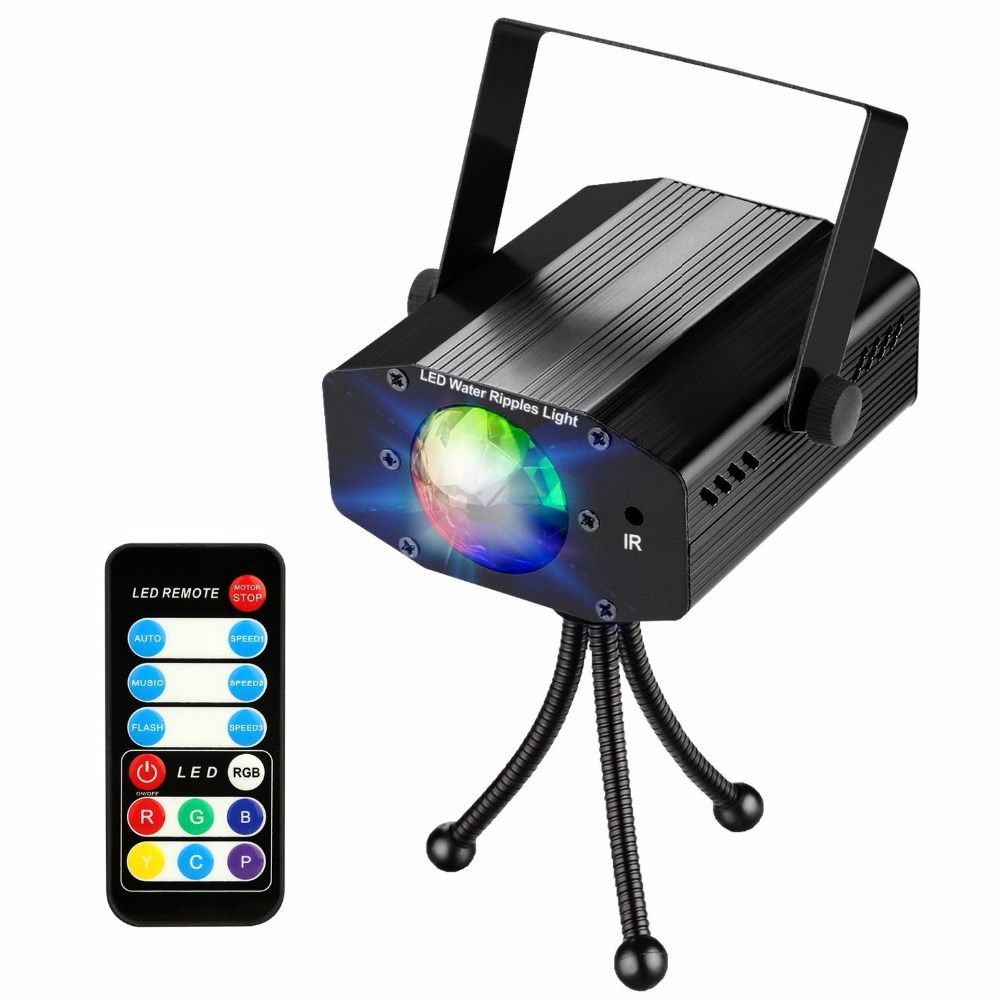 Aimbinet Disco DJ Party lights led stage lights strobe light with ...