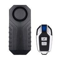 (1 Set) Draadloze vibratie Alarm Outdoor Waterdichte Afstandsbediening Auto Fiets voertuig Elektrische Truck Shock detector Anti verloren