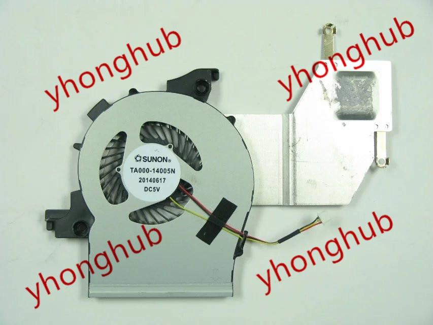 Free shipping For SUNON TA000-14005N DC 5V  3-wire 3-pin connector Bare Fan сувениры win подарочный набор золотой