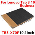 Case For Lenovo TAB 3 10 Business  Protective Smart cover Leather Tablet For TB3-X70F TB3-X70N 10.1 inch PU Protector Sleeve