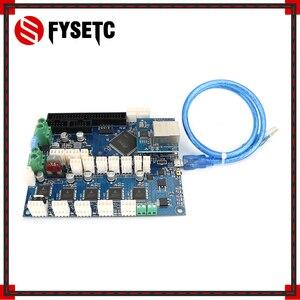 Image 2 - משובט דואט 2 Ethernet מתקדם 32 קצת אלקטרוניקה לוח דואט V1.04 מתן Ethernet קישוריות עבור D מדפסות CNC מכונות