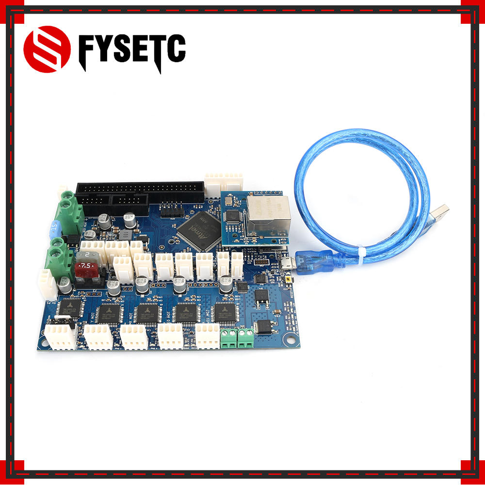 Cloned Duet 2 Ethernet Advanced 32 Bit Electronics Board Duet V1.04 Providing Ethernet Connectivity For D Printers CNC Machines