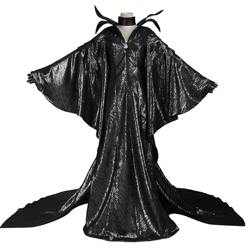 Manles Maleficent Cosplay Costume Maleficent Angelina Jolie Cosplay Clothing Dress Adult Women Costume Halloween Custom Made