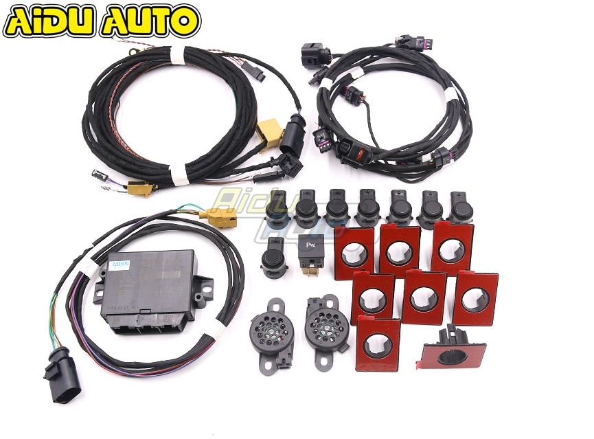 Park Pilot Front And Rear 8 Sensor 8K PDC OPS Vehicle Parking FOR VW Golf 5