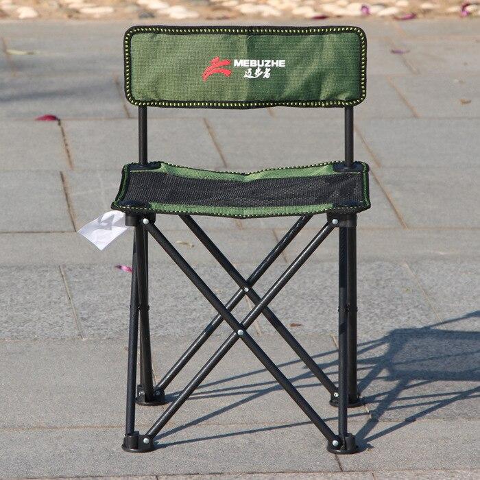 En plein air Arrière Pliant Chaise De Plage Oxford Mobilier De Camping Portable Chaise de Maille Noir Siège Tabouret De Pêche Pique Nique Voyage Siège Chaise dans Chaises de plage de Meubles