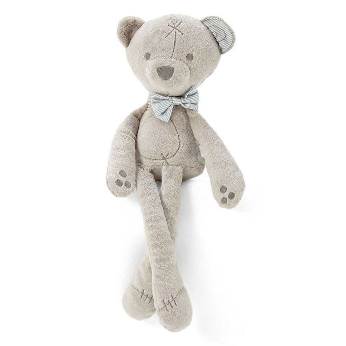 2019 Hot Sale Soft Plush Baby Kids Stroller Bed Hanging Musical Bear Toy Lovely Stuffed Bear Toy Children's Plush Cute Ornaments