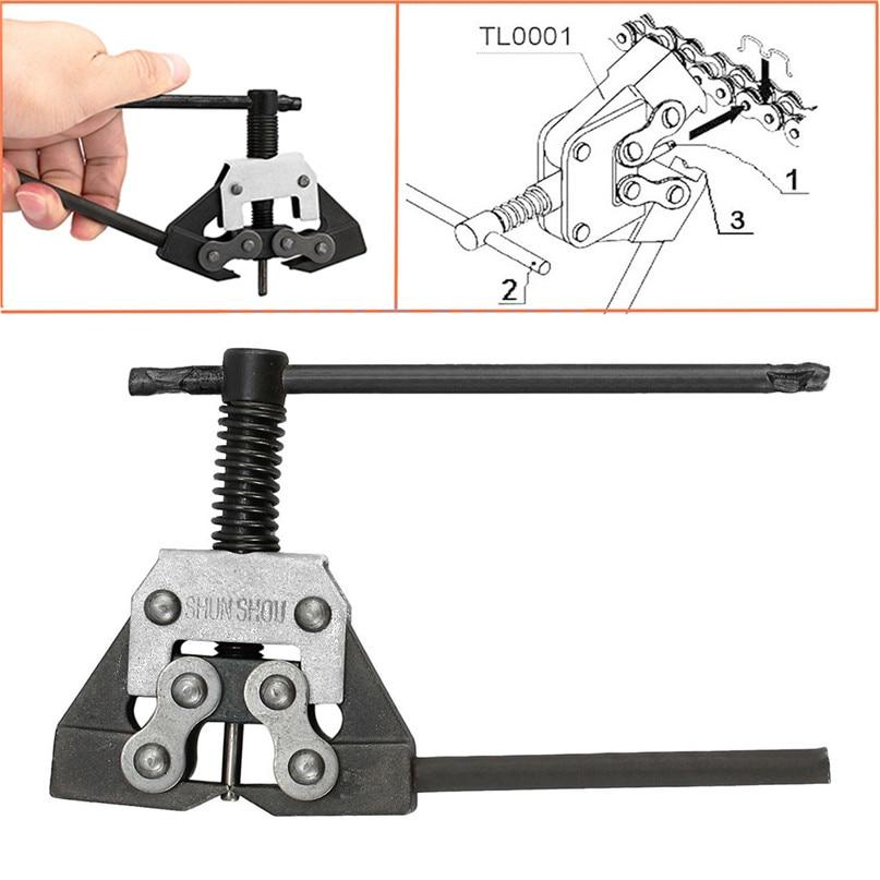 Bicycle Repair Tool Motorcycle Chain Cutter Breaker Tool Bike ATV Fit 415 420 428 520 530 Heavy Duty #2M29