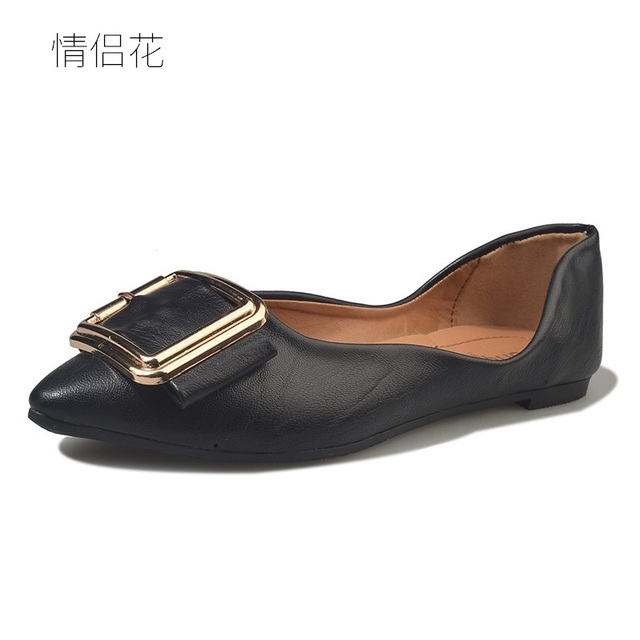 58daf3578 2018 fashion casual black flat shoes women flats spring sutumn girl designer  shoes woman shoes ladies espadrilles loafers white